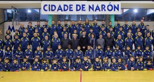O Cidade de Narón perfila os seus planteis de base de cara á vindeira tempada.