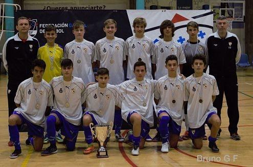 O gol do cadete Iago Pérez da a victoria a Ferrol no torneo de seleccións comarcais.